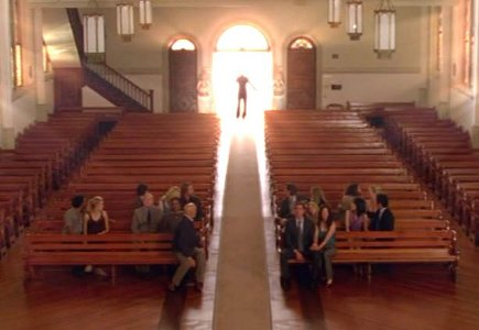 Picture of the Day 6/07/10 – Church scene for 'Lost' finale