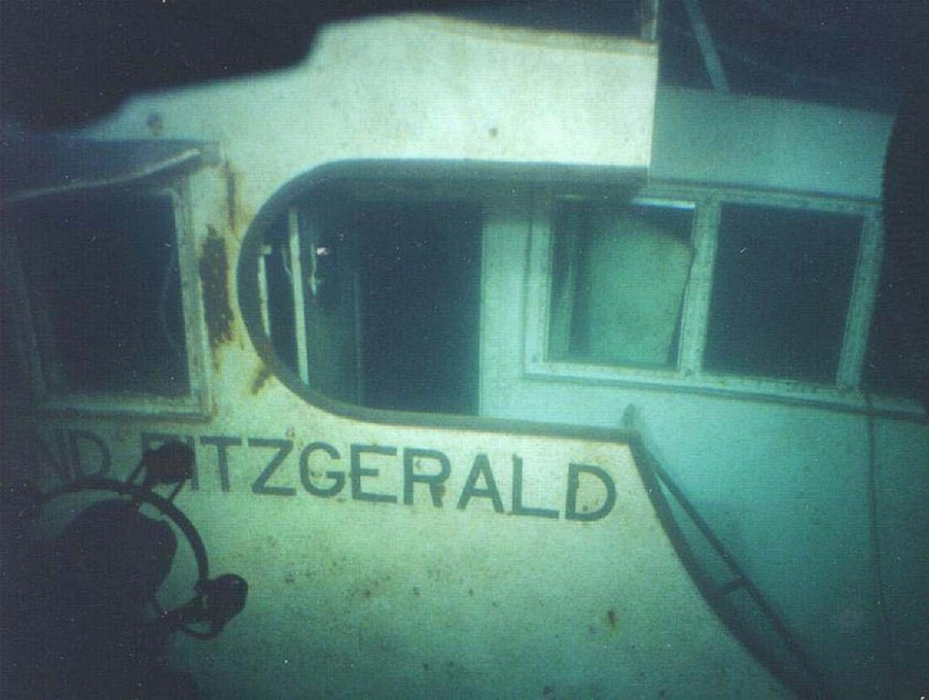 Today in History 11/10/1975 – Edmund Fitzgerald sinks in ...