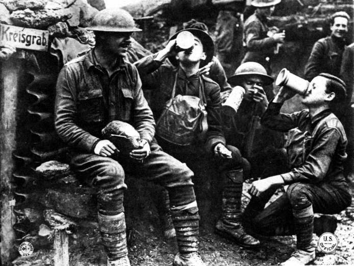 World War I History: November 11, 1918 Armistice Morning