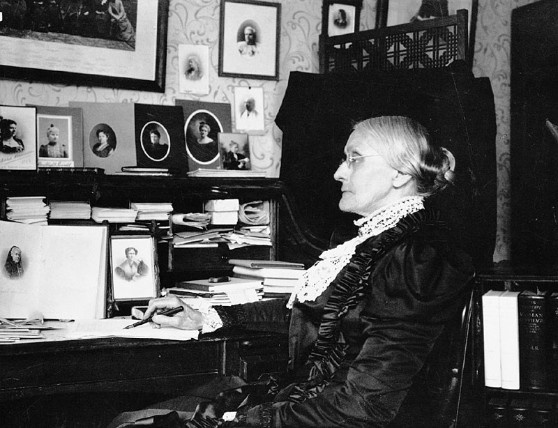 Today in History 11/5/1871 – Pro-Life Susan B Anthony arrested ...