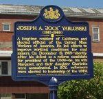 "Joseph A.""Jock"" Yablonski Marker"